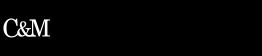 Logotipo Revista Comunicacion y Métodos en blanco